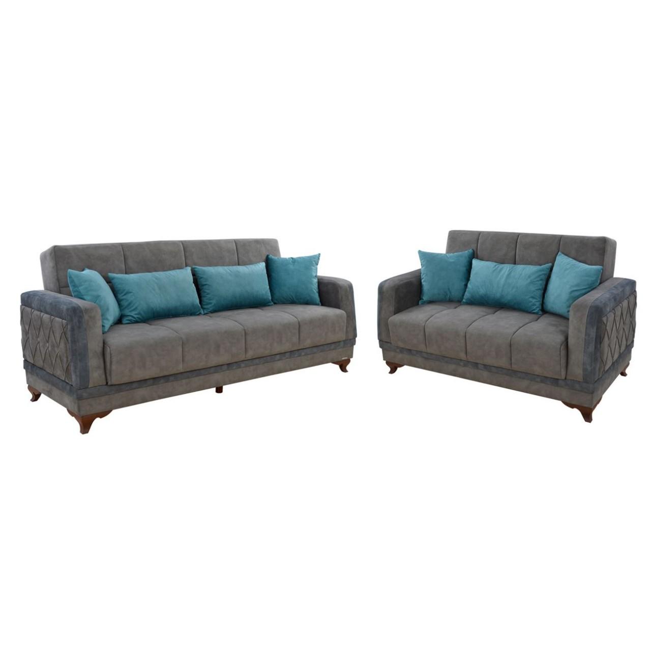 Enormt Sofa Set Milano Gray FX-95