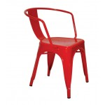 Καρέκλα Industrial Κόκκινο