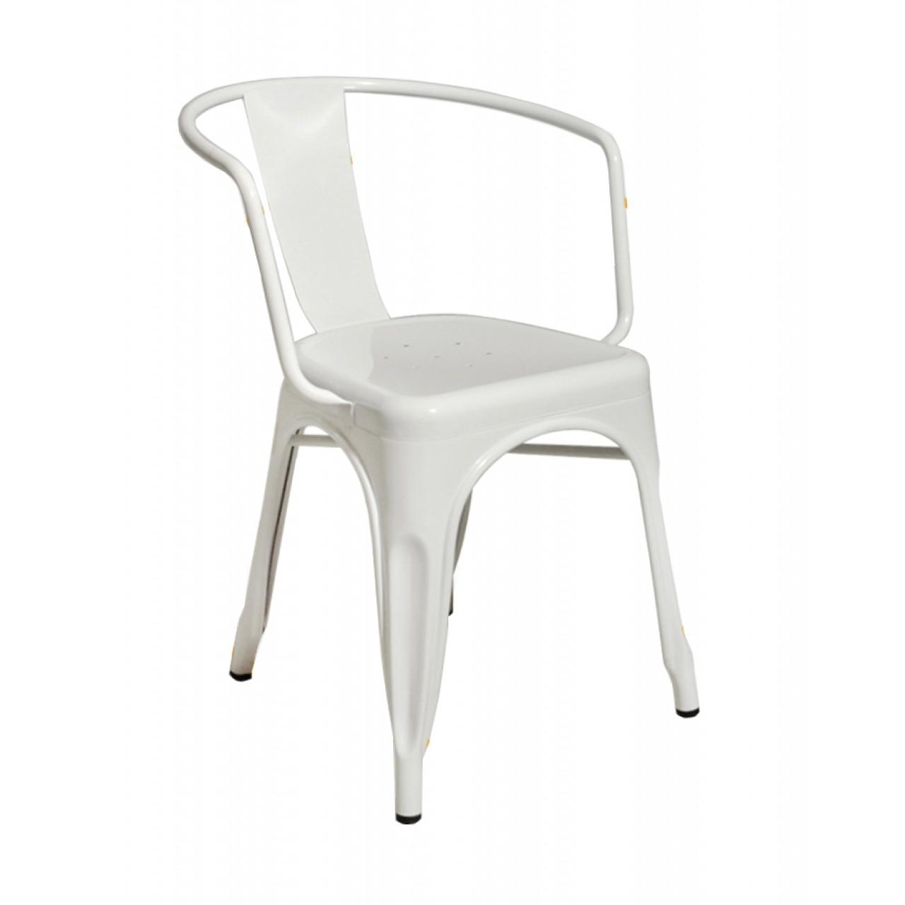 Καρέκλα Industrial Λευκό Ξενοδοχειακά / Επαγγελματικά