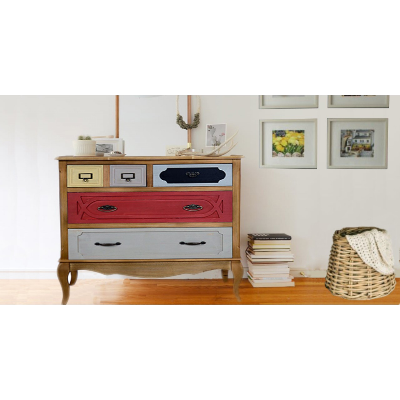 Chest Of Drawers Retro Chic